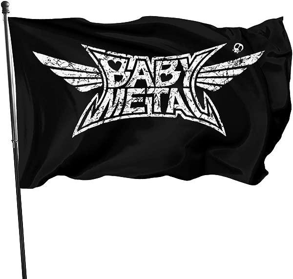 Lizhiguozhuanmai Classic Babymetal Banner Flag Outdoors 3 X 5 Ft
