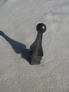 USA Premium Store Cast Iron Spear, Finial, Spire, Ornamental Fence Topper 3/4