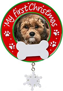 Best dogs first christmas picture frame Reviews