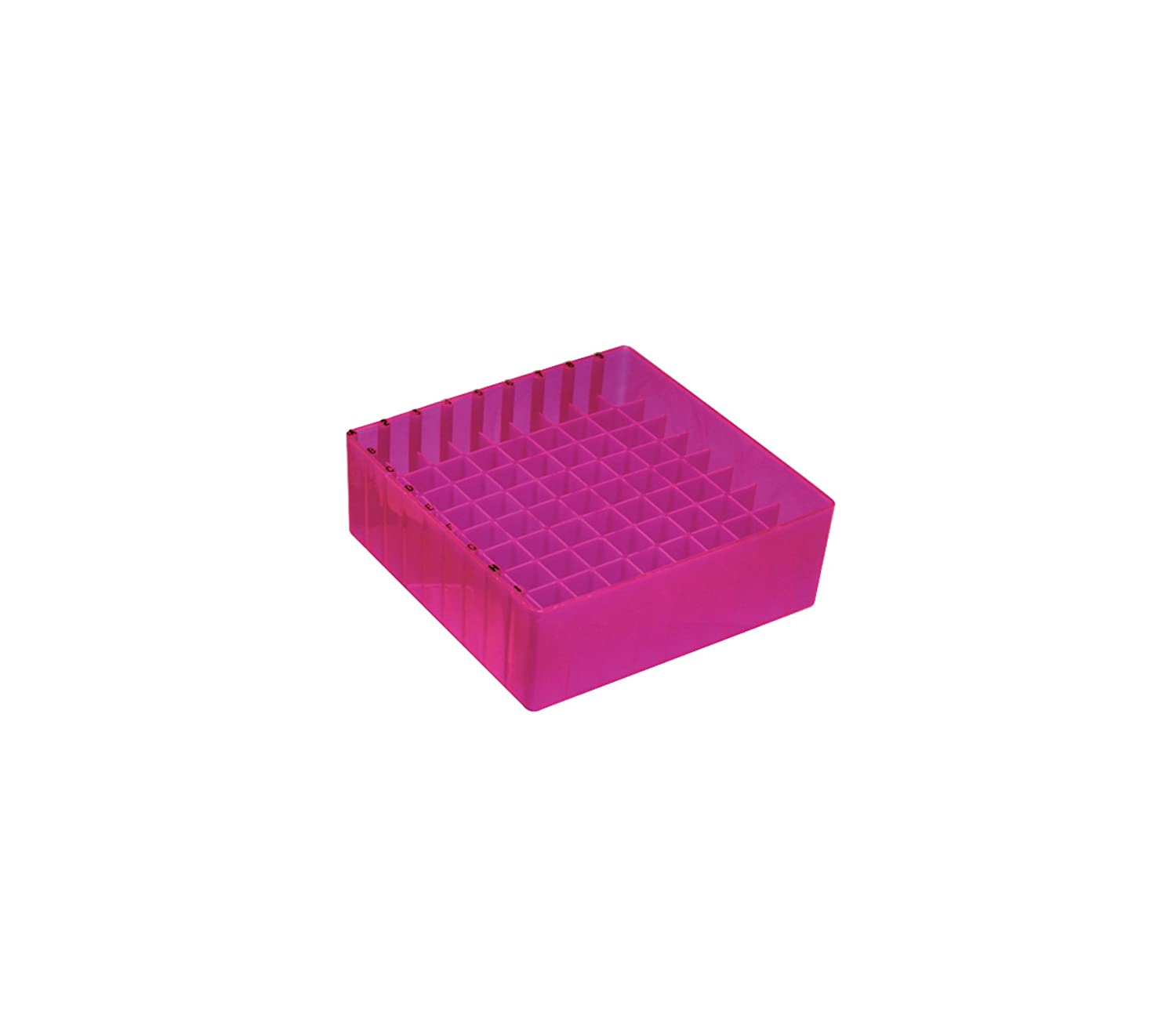 MBP Cryogenic Ranking TOP8 Rack with Lid Pink for Case In a popularity Fluorescent 81-Well