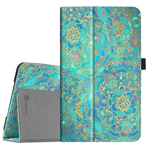 Fintie Folio Case for Samsung Galaxy Tab A 8.0 2017 Model T380/T385, Premium PU Leather Folio Stand Cover with Auto Sleep/Wake for Galaxy Tab A 8.0 Inch SM-T380/T385 2017 Release, Shades of Blue