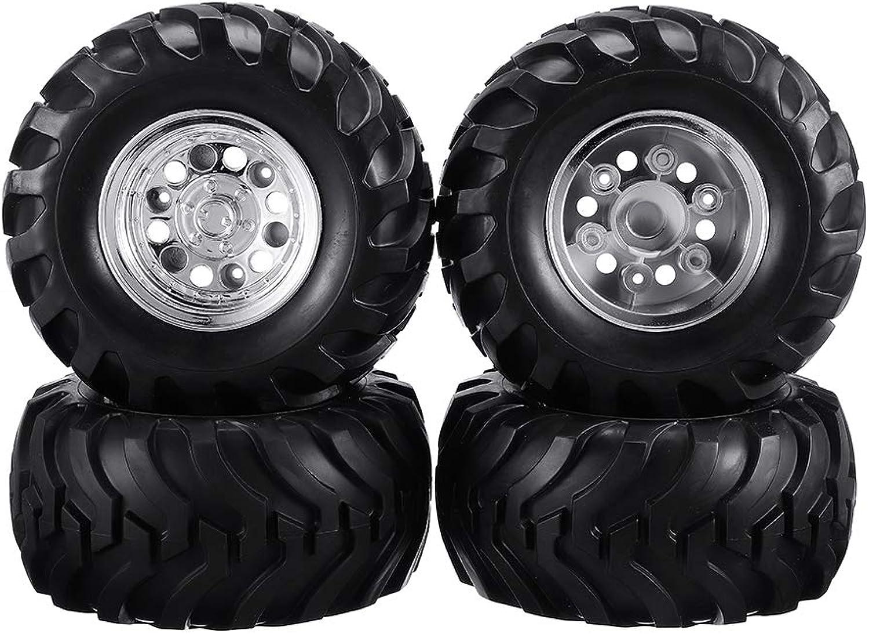 servicio considerado Desconocido Generic 4PCS 4PCS 4PCS L R Wheel Rim & Tires for HG P407 1 10 2.4G 4WD RC Coche Parts ASS-13  venta al por mayor barato