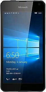 Microsoft - Factory Unlocked Phone - Black