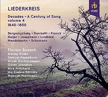 Liederkreis - Decades - A Century of Song, volume 4