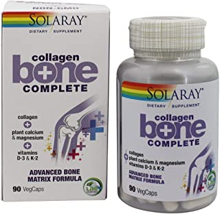 Collagen Bone Complete Solaray 90 VegCaps