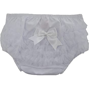 Soft Touch Baby Girls Frilly PantsKnickersNappy Covers (0