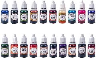 20 kleuren epoxy- en uv-harspigment, universele harskleurstof, supergeconcentreerd, doorschijnend, epoxypigment, kunsthar...