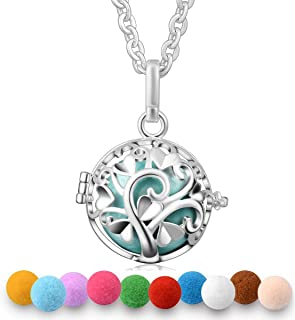 """Harmony Bola Necklace 20mm Tree of Love Serenity Prayer Purfume Pendant Mexican Pregnancy Ball 30"""""""