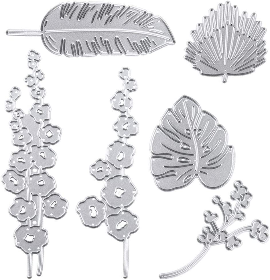 Cutting Dies Metal Discount Max 77% OFF mail order Leaf and Flower Stencils S Embossing for DIY