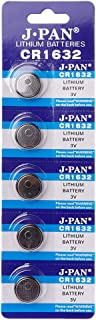 5PCS Button Battery CR1632 Lithium Coin Cell Batteries 3V LM1632 BR1632 ECR1632 CR 1632 Electronic Watch Toy Remote