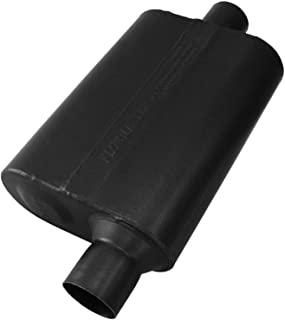 Flowmaster 842541 40 Delta Muffler 409S - 2.50 Offset IN / 2.50 Center OUT - Aggressive Sound