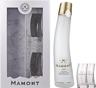 Mamont Wodka mit Geschenkverpackung mit 2 Gläsern 1 x 0.7 l