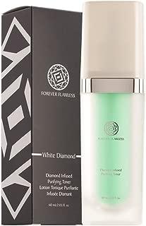 Forever Flawless Exfoliating Facial Toner With White Diamond Powder and Aloe Vera FF16, Enhance Skin Elasticity and Firmness, Cleanse and Close Pores (2.03 fl oz)