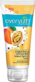 Everyuth Naturals Hydrating & Exfoliating Walnut Apricot Scrub, 100gm, Tube