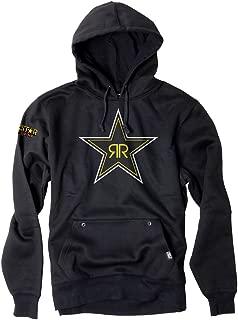 Factory Effex Unisex-Adult Rockstar Blackstar Hooded Sweatshirt Black XX-Large
