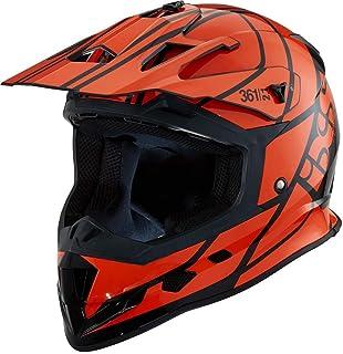 IXS 361 2.1 Motocross Helm Schwarz/Orange XS 53/54