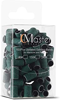 JCMASTER® 100x Premium Nagelfräser Schleifhülsen, Fein 24