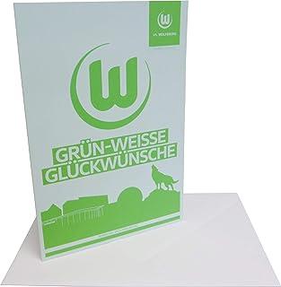 VfL Wolfsburg Glückwunschkarte Skyline