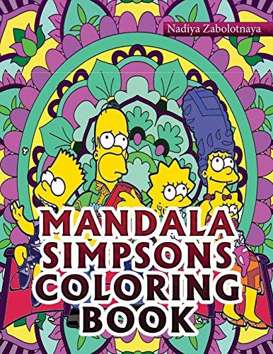 Mandala Simpsons Coloring Book Part 1