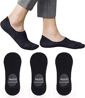 3   6   10 Pares de Calcetines de Algodón para hombres y mujeres Calcetines de deporte invisible con 8 tiras de silicona antideslizantes
