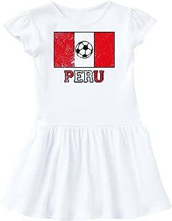 Peruvian Soccer Toddler Dress