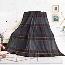hengshu Fuzzy Blankets King Size Soft Throw Blankets for Adults W47 x L47 Inch