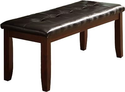 Amazon Com Homelegance Eagleville Bench 60 Inch Table