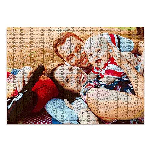 LolaPix Puzzle Personalizado 1000 Piezas. Personaliza con tu Foto. Puzzle Cartón Acabado Brillante. Varios tamaños. 1000 Piezas