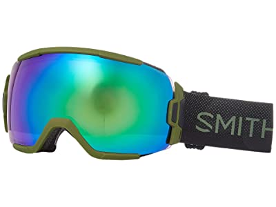 Smith Optics Vice Goggle (Moss Surplus/Chromapop Everyday Green Mirror) Goggles