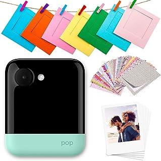Polaroid Pop 2.0 Cámara digital de impresión instantánea (Verde) 20 Mp Pantalla Táctil de 397 In Wi-Fi incorporado Tecnología Zink Zero Ink y nueva aplicación fotografías de 9 x 11 cm