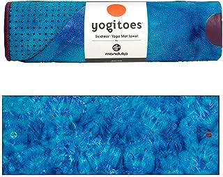 Manduka Unisex-Adult Manduka Unisex Yogitoes Mat Towel 2.0 Groovy Playa 1 One Size, Groovy Playa 1, One Size