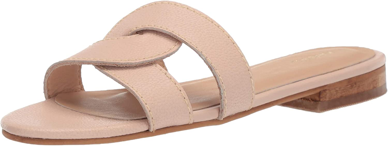 KAANAS KAANAS KAANAS kvinnor Santorini Infinity Loop Woven Flat Slide Sandal Sandal  kundens första rykte först