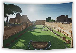 Wall Tapestry For Bedroom Hanging Art Decor College Dorm Bohemian, Ruins Of Stadium Domitanus At The Palatine Hill In Rome...