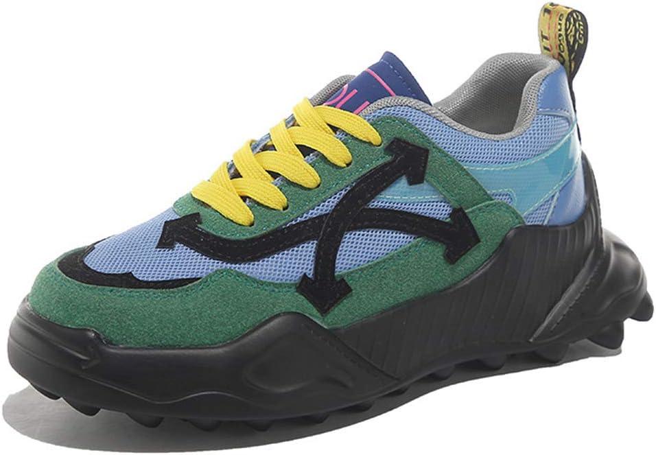 JXILY Sneaker Womens Walking Shoes Women's Platform Shoes Heighten All-Match Sports Shoes Lightweight Breathable Comfort