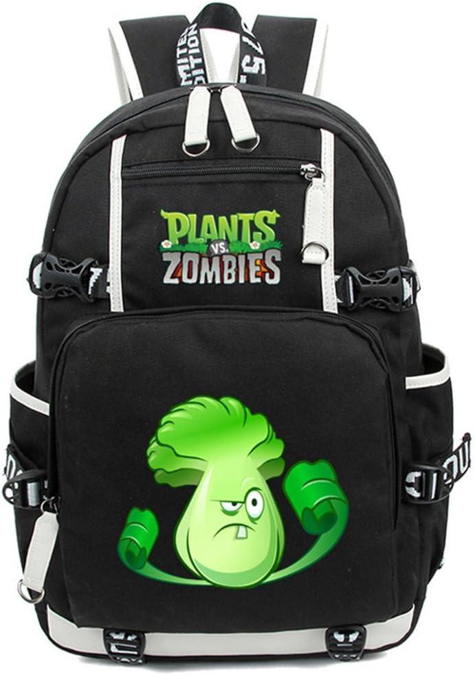 Siawasey Cute Plants Zombie Hot Bookbag Regular store Shoulder Backpack Portland Mall B Game