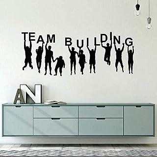 Bureau Chambre Décoration Team Building Citation Sticker Vinyle Team Building Stickers Muraux Bureau Vinyle Mur Art Affich...