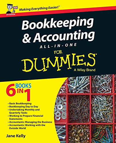 Compare Textbook Prices for Bookkeeping and Accounting All-in-One For Dummies - UK UK Edition ISBN 9781119026532 by Kelly, Jane E.