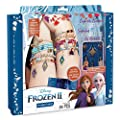 Make It Real – Disney Frozen 2 Elements Jewelry Set. Disney Inspired DIY Charm Bracelet Making Kit for Girls. Design and Create Girls Bracelets with Frozen 2 Charms, Beads, Faux Suede and More