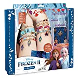 Make It Real Disney Frozen 2 Elements Jewelry Set. Disney Inspired DIY Charm Bracelet Making Kit for Girls. Design and Create Girls Bracelets with Frozen 2 Charms, Beads, Faux Suede and More