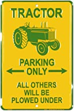 New John Deere Tin Poster Sign Farm Equipment Rustic Style Man Cave Tractor