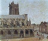 The Museum Outlet–L'Église de Saint-Jacques, Dieppe, 1901, Tendue sur toile...