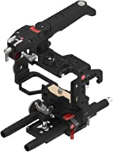 JTZ DP30 JL-JS7 Camera Cage 15mm Rail Rod Baseplate Rig and Electronic Top Handle for SONY A6000 A6300 A6500 Dslr Cameras