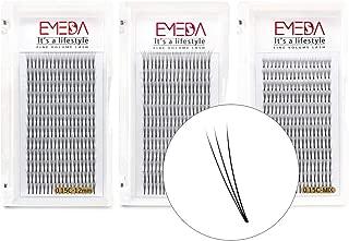3D W Volume Cluster Eyelash Extension False Eyelashes 0.15 C Curl 8-14Mix/12/14MM Individual Eyelashes 3D 3Trays