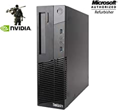 $449 » Lenovo M93P Small Form Factor High Performance Desktop Computer PC - Intel Core I7-4770 3.4Ghz - 16GB RAM - 256GB SSD - NVIDIA GT 750Ti 4GB DDR5 - DVD ROM - Windows 10 Home 64-bit (Renewed)