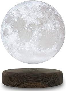 匠の誠品 磁気 浮上 浮遊 月ライト 月ランプ ムーンライト 3Dプリント 間接照明 インテリア テーブルランプ 15センチ