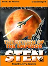 STEN: The Return of the Emperor [Unabridged MP3-CD] by Allan Cole and Chris Bunch (Sten Series, Book 6)