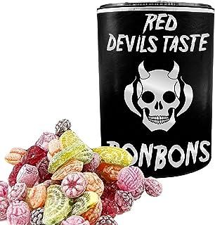 XXL DOSE BONBON MIX BEST OF CHILI - von mild zu extra scharf - 500g - RED DEVILS TASTE