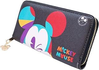 Carteira Retangular Mickey Piscando 11x19cm 90 Anos - Disney