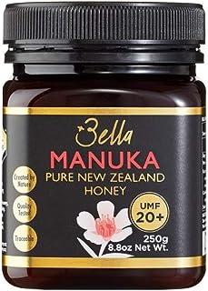 Bella New Zealand Manuka Honey Certified UMF 20+ (MGO 830+) | 8.8oz | 250g | Raw Ultra Premium 100% NZ Manuka Honey | Non-...