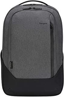 Targus Cypress Hero Backpack with EcoSmart Designed for Business Traveler and School fit up to 15.6-Inch Laptop/Notebook, Light Gray (TBB58602GL)